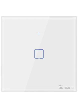 Sonoff T1 умный сенсорный настенный wifi выключатель на 1 кноп...