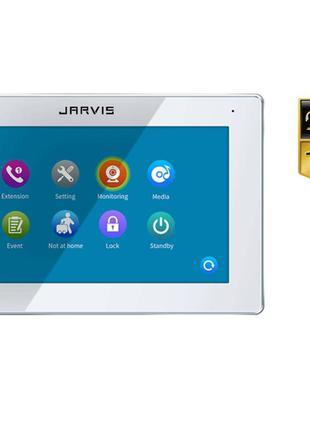 Touch Screen Full HD 1080P Видеодомофон с записью видео по-дви...