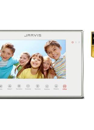Full HD 1080P Видеодомофон с записью видео по-движению Jarvis ...