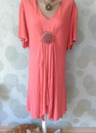 Красивое платье  туника  большого размера