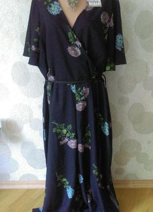 Обалденный комбинезон платье большого размера
