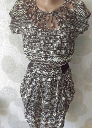 Обалденное  брендовое платье  оригинал