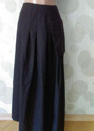 Обалденная  винтажная   длинная  юбка виртуозного дизайнера с ...