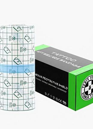 Заживляющая пленка для тату EZ TATTOO HEALING BANDAGE Упаковка...