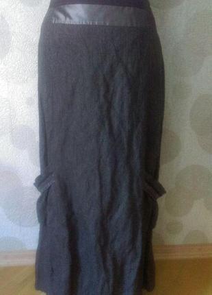 Винтажная   дизайнерская  длинная   юбка в стиле бохо  lauren ...
