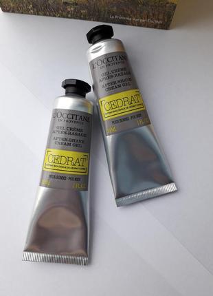 L'occitane loccitane крем гель після гоління цедрат cedrat 30 мл