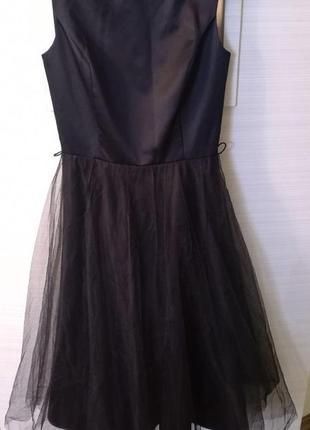 Вечернее  бальное   платье с пышной   фатиновой юбкой  размер ...