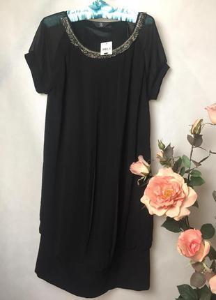 Великолепное комбинированное платье для беременных от m2b