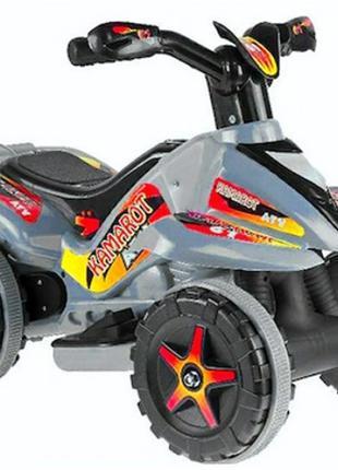 Квадроцикл на акумуляторі 6V сірий MK1461