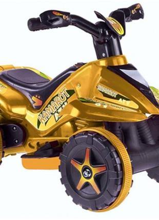 Квадроцикл на акумуляторі 6V салатовий MK1461
