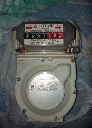 Счетчик газовый ДАЕСУНГ Корея