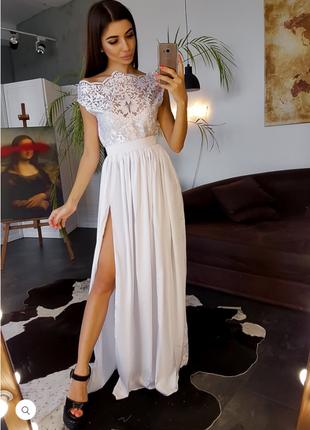 Платье женское вечернее.