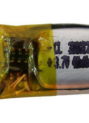 Аккумулятор LiPo 301012 3*10*12мм 30mah 0.8g (17893)
