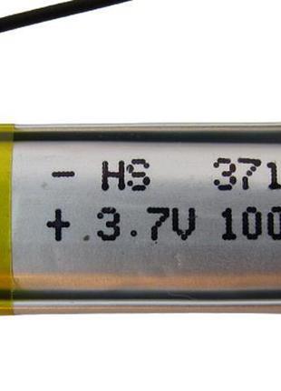 Аккумулятор LiPo 371030 4*10*30мм 100mah 2.0g (17890)