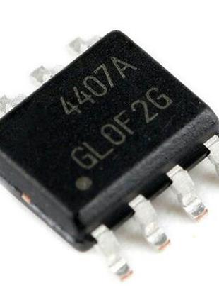 Транзистор AO4407A AO4407 30V 12А SOP-8 (17915)