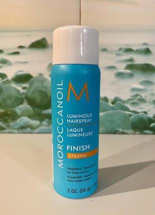Сша 🇺🇸 moroccanoil сияющий лак для волос с арганой luminous ha...