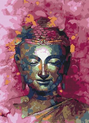 Картина по номерам будда браш 6