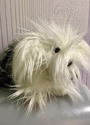 Болонка dulux мяка іграшка пес собачка