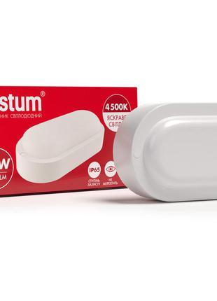 Vestum 18W 4500K 220V cветодиодный овальный светильник для ЖКХ...