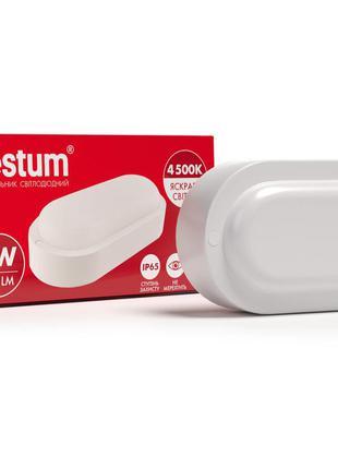 Vestum 8W 4500K 220V cветодиодный овальный светильник для ЖКХ ...