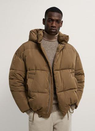Zara демисезонная мужская оверсайз куртка,новая!