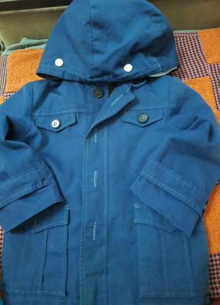 Пальто с подкладкой сьемной