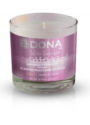 Массажная свеча DONA Scented Massage Candle Tropical Tease SAS...