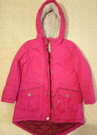 Курточка детская б у на 4-6 лет