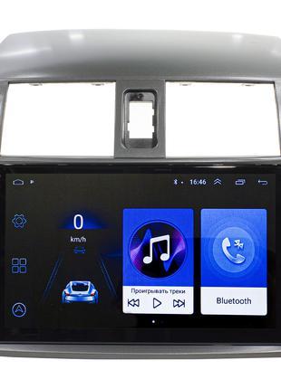 """Штатная автомобильная магнитола Toyota Corolla 9"""" (2009-2013г...."""