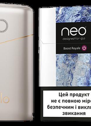 Стартовый набор нагрева табака GLO PRO Серый + бесплатная дост...