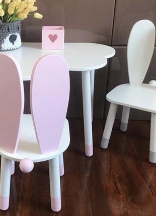 Детский стол и стульчик Зайка от производителя