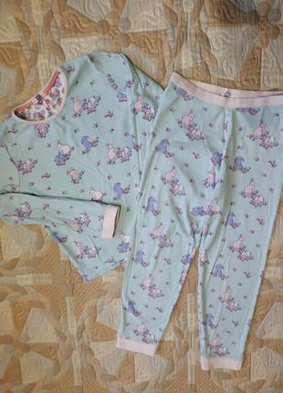 Пижамка для девочки 7-8 лет