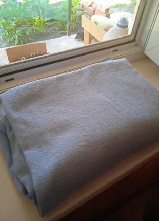Пара голубых штор 220*136 см,цена набора