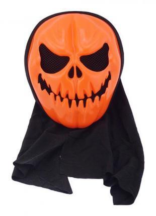 Маска с капюшоном Тыква (Halloween Scary Horror mask)