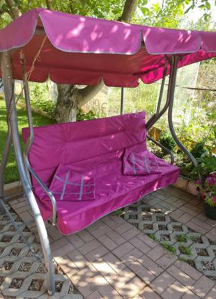Сменный текстиль на садовую качель