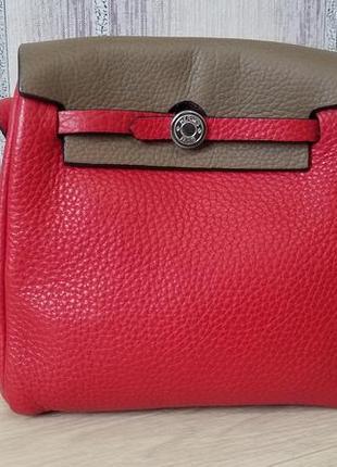 Hermes кожаная женская сумка.