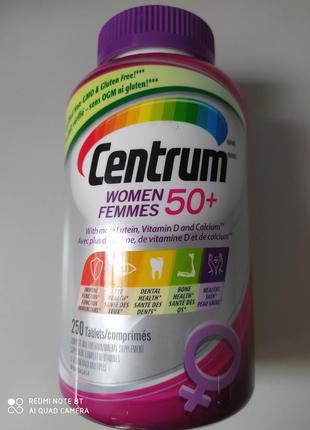 Центрум ,вітаміни для жінок  50+.