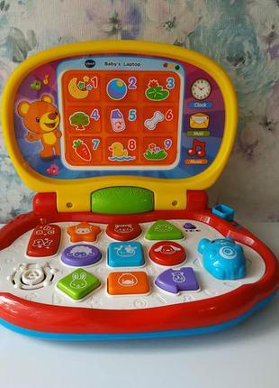 Развивающая музыкальная игрушка детский лэптоп от vtech музыка...