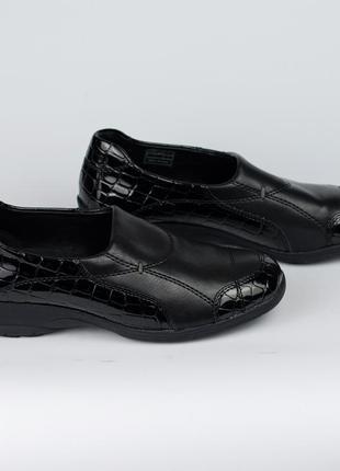 Брендовые кожаные туфли мокасины jenny by ara на широкую ногу ...