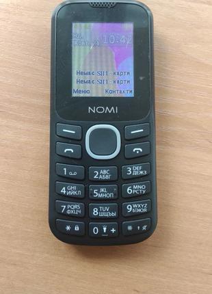 Мобильный телефон Nomi i184 Dual SIM Black-Gray