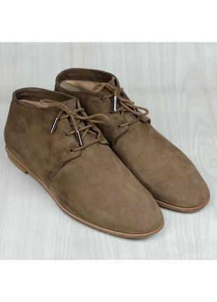 Замшевые ботинки дезерты tod's chukka оригинал италия 39-40р. ...