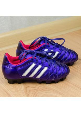 Футбольные бутсы на мальчика adidas juniors 11 questra trx fg ...