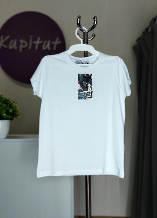 Базовая футболка a-yugi унисекс от 6 до 15 лет