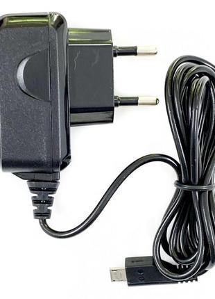 Сетевое зарядное устройство Nokia 8600 черное