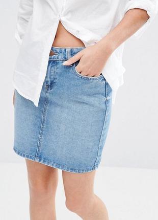 Юбка джинсовая new look