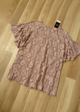 Нарядная кружевная блуза next