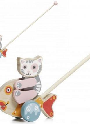 Каталка 12473 для детей от 1 года, Рыбка-каталка, Игрушки для ...