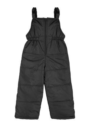 Полукомбинезон теплый зима зимние штаны