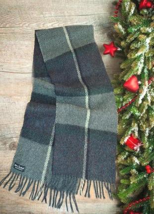 ⛄⛄100% shetland натуральная шерсть теплый мужской шарф с бахро...