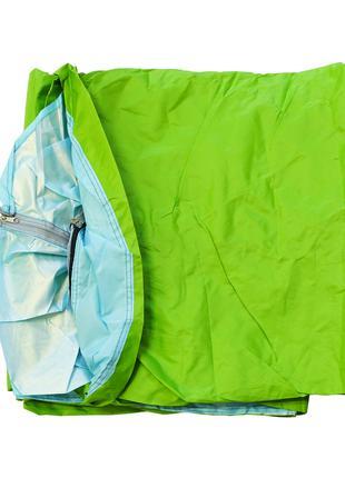 Палатка для кемпинга двухместная, Мятно-зеленый